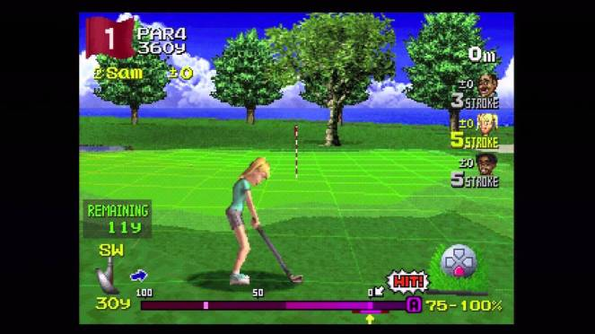 Everybody's Golf 2 Sam